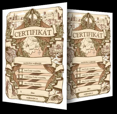 Nejjižnější certifikát